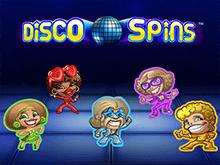 Disco Spins на зеркале Вулкан Старс