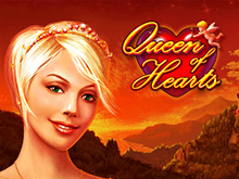 Queen Of Hearts на зеркале Вулкан Старс