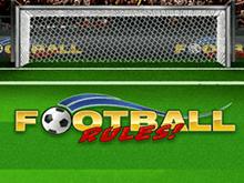 Правила Футбола – виртуальный игровой автомат от Playtech