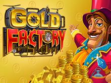 Играйте на портале в автомат Фабрика Золота от Microgaming