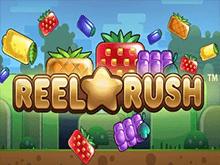 Онлайн-автомат Reel Rush от компании НетЕнт с оригинальным игровым полем